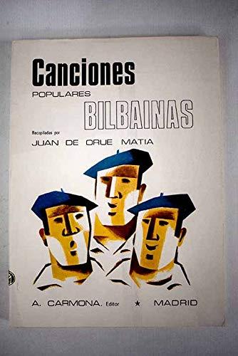 9788439823735: Canciones populares bilbainas