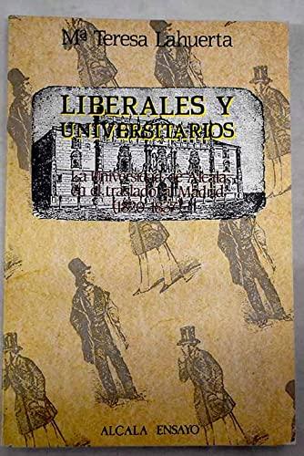 LIBERALES Y UNIVERSITARIOS: M.ª TERESA LAHUERTA