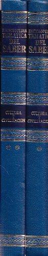 9788439973874: ENCICLOPEDIA TEMATICA DEL SABER. CULTURA Y CIVILIZACION - 2 TOMOS