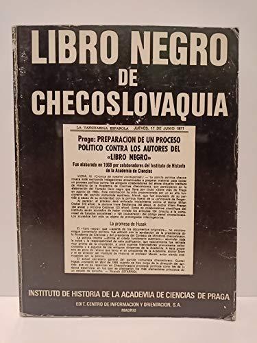 9788440014207: Libro negro de Checoslovaquia