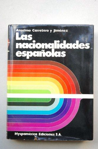 9788440037268: Las nacionalidades españolas
