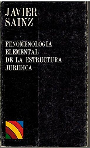 9788440040008 Fenomenologia Elemental De La Estructura
