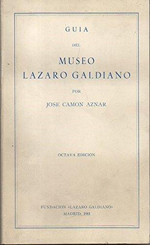 9788440063595: Guía del MUSEO LÁZARO GALDIANO
