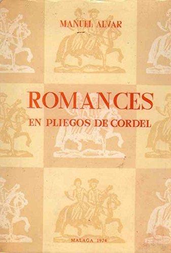 9788440072733: Romances en pliegos de cordel: Siglo XVIII
