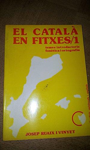 9788440074591: Catala en fitxes 1