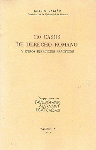 9788440096166: 110 CASOS DE DERECHO ROMANO