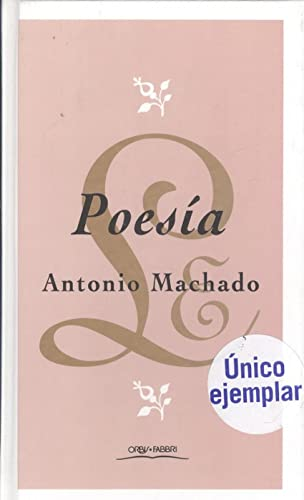 Poesía - Machado, Antonio