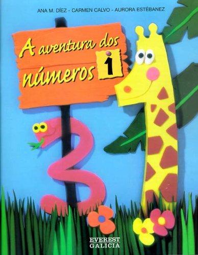9788440303493: A aventura dos números 1 - 9788440303493