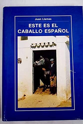 Este es el Caballo Espanol: Llamas, Juan