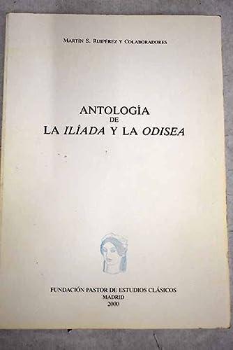 9788440469182: Antologia de la iliada y la odisea