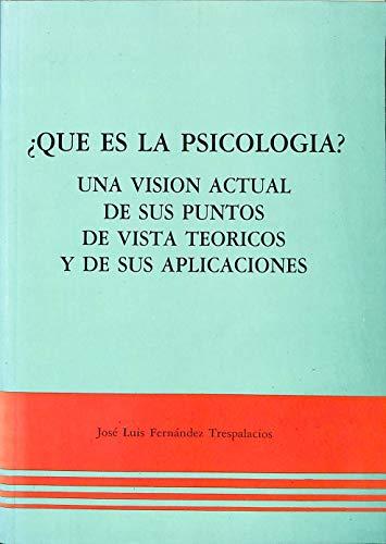 9788440477330: Que es la psicologia?