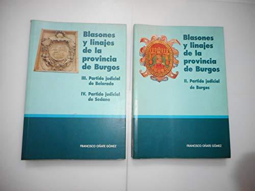 9788440485618: Blasones y linajes de la provincia de Burgos (Spanish Edition)