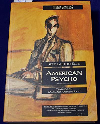 9788440622952: American Psycho (Spanish Edition)