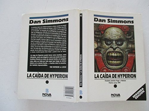 9788440623096: LA CAIDA DE HYPERION: LOS CANTOS DE HYPERION (VOL. II) [Nov 11, 1991] Simmons, Dan