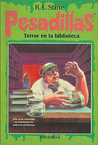 9788440661395: Terror en la biblioteca