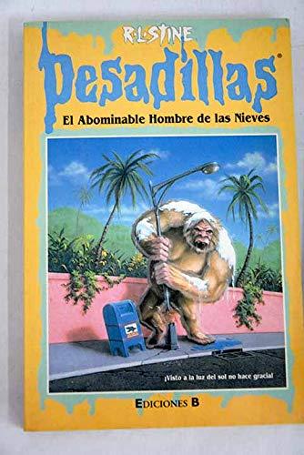 9788440677525: Pesadillas: El Abominable Hombre De Las Nieves (Pesadillas)