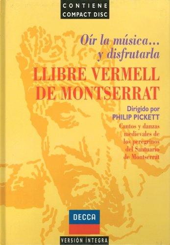 9788440902641: Llibre vermell de Montserrat: cantos y danzas de peregrinos de la virgen de Montserrat
