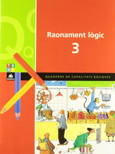 9788441208483: Quadern de raonament lògic 3 (Q. DE CAPACITATS BÀSIQUES) - 9788441208483