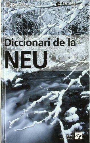9788441208803: Diccionari de la neu (Diccionaris Terminològics)