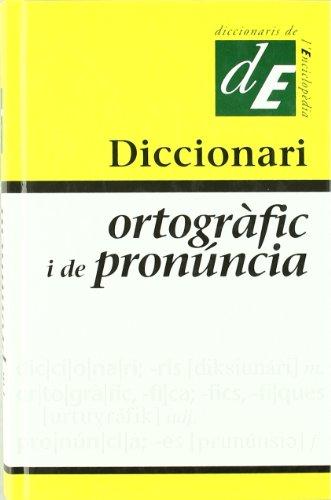 9788441209213: Diccionari ortografic i de pronuncia