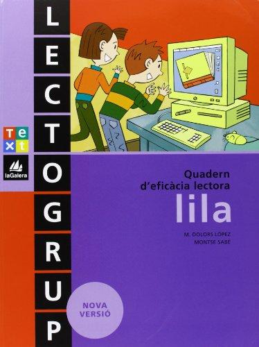 9788441212220: Lectogrup lila (Lectogrup-Q. eficàcia lectora) - 9788441212220