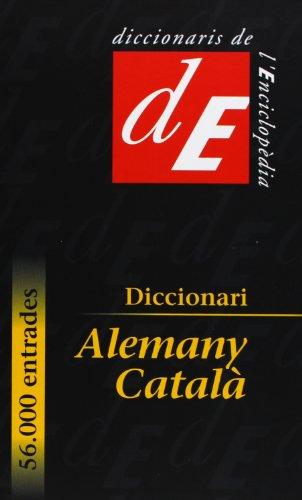 9788441214521: Diccionari Alemany-Catala (Diccionaris de L'Enciclopedia)