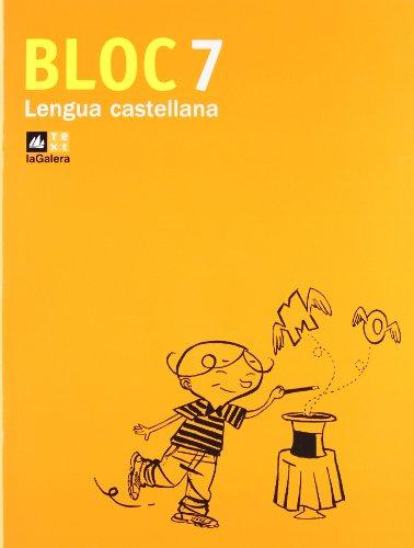 9788441215931: Bloc Lengua castellana 7 - 9788441215931