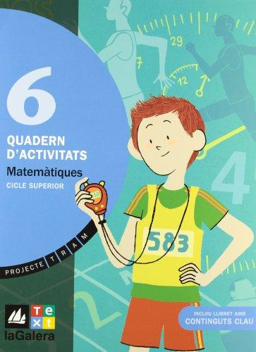 9788441217935: TRAM Quadern d'activitats Matemàtiques 6 - 9788441217935