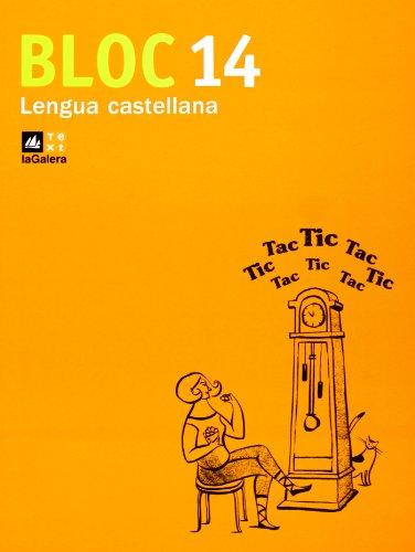 9788441218154: Bloc Lengua castellana 14-9788441218154