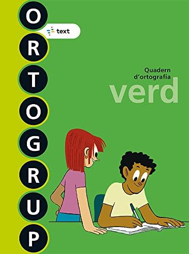 9788441222458: Ortogrup verd (ORTOGRUP - Quaderns d'ortografia) - 9788441222458