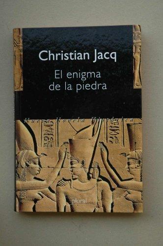 EL ENIGMA DE LA PIEDRA. - JACQ, Christian.