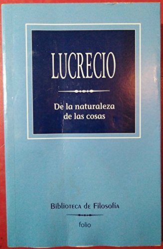 9788441318656: de La Naturaleza de Las Cosas (Spanish Edition)