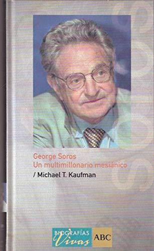 9788441320949: George Soros