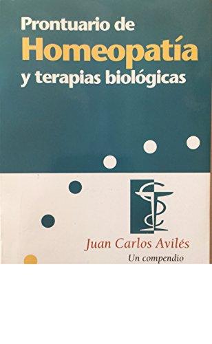 9788441400238: Prontuario de homeopatia y terapias biologicas (Estudios Y Documentos)