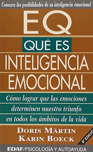 9788441402065: EQ qué es inteligencia emocional