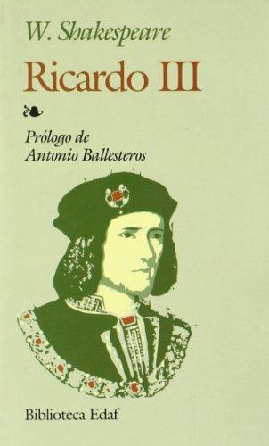 9788441402089: Ricardo III