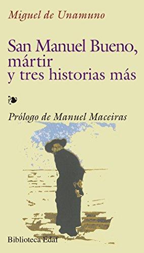 9788441402812: San Manuel Bueno mártir y tres historias más