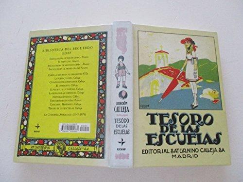 9788441405660: Tesoro de las escuelas (Biblioteca Del Recuerdo)