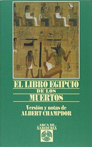 9788441407275: El libro egipto de los muertos