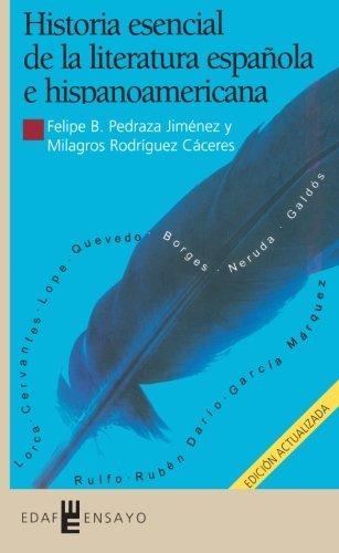Historia esencial de la literatura española e hispanoamericana: Jimenez y