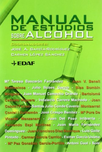 9788441410282: Manual De Estudios Sobre El Alcohol (Spanish Edition)