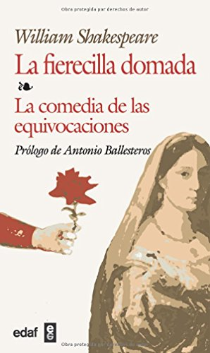 9788441410541: Fierecilla Domada,la-comedia D Las Equiv (Biblioteca Edaf) (Spanish Edition)