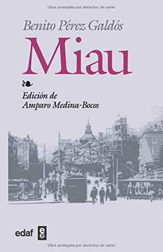 9788441413825: Miau (Spanish Edition)