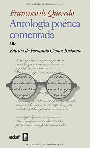 9788441414730: Antologia Poetica Comentada-quevedo (Biblioteca Edaf) (Spanish Edition)