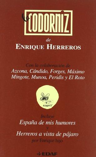 9788441417403: Codorniz De Enrique Herreros,La