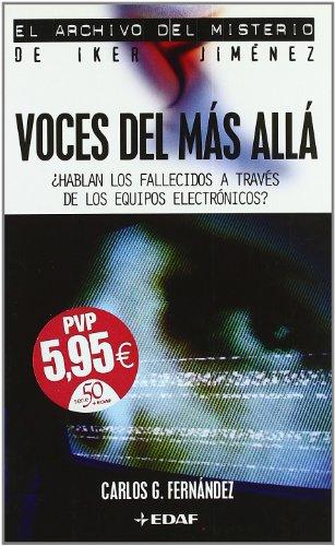 Voces del más allá: FERNANDEZ, C.