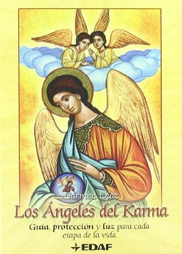 9788441418967: Angeles Del Karma - Guia, Proteccion Y Luz Para Cada Etapa De La Vida - C/cartas