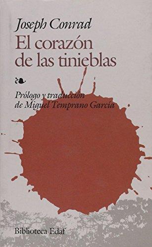 9788441420762: CORAZON DE LAS TINIEBLAS