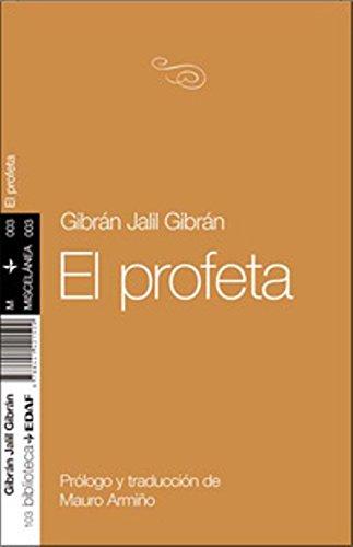 9788441421509: Profeta, El. (Nueva Biblioteca Edaf)