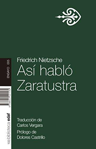 9788441421530: Asi Hablo Zaratustra (Nueva Biblioteca EDAF)